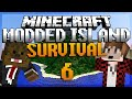 Minecraft Survival Island Mods Ep. 6 MEGA BOSS BATTLE w BajanCanadian!