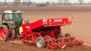 Grimme GB 430 potato planter and chemicals equipment