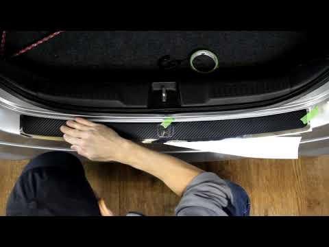 Наклейка на задний бампер для Honda Fit, Honda Jazz