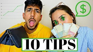 MONEY SAVING TIPS / HOW TO BUDGET as a BROKE STUDENT for UNIVERSITY / COLLEGE