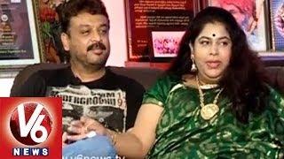 getlinkyoutube.com-Actor Naresh And  Ramya Raghupathi  Reveals About Their Life  ||  Life Mates  || V6 News