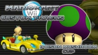 getlinkyoutube.com-Mario Kart Wii Custom Tracks - Poison Mushroom Cup