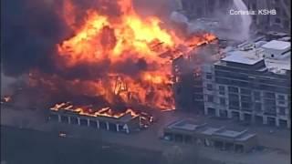 Emergencia en Overland Park tras un voraz incendio