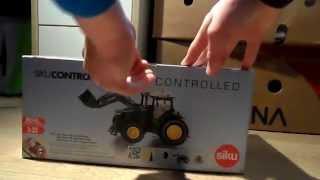 getlinkyoutube.com-Unboxing John Deere 7R SIKU CONTROL MET FRONTLADER (SPECIAL)