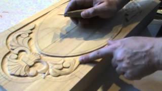 getlinkyoutube.com-как сделать нарды Плоско рельефная резьба