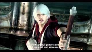 getlinkyoutube.com-Devil May Cry 4 - Nero vs Dante