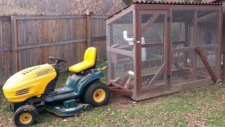 getlinkyoutube.com-Chicken Tractor - Construction of the Original Lawn Mower - 2