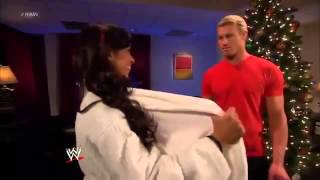 getlinkyoutube.com-AJ Lee Flashes Christmas Gift to Dolph Ziggler  WWE Raw 24-12-12 Full Show