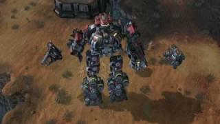 getlinkyoutube.com-StarCraft2 New Unit Terra-Tron