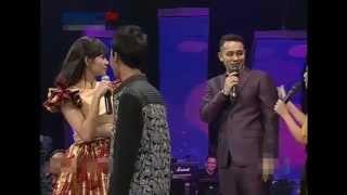 getlinkyoutube.com-Kedatangan Pacar, Gilang salah tingkah saat duet dengan Jupe Live KDI 2015