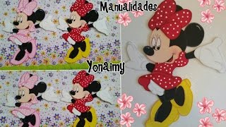 getlinkyoutube.com-MINNIE MOUSE COMPLETA EN FOAMY O GOMA EVA