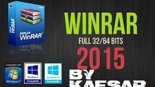 getlinkyoutube.com-¿Cómo descargar WINRAR 2016 GRATIS COMPLETO?| FULL 32 y 64 bits | Todos los Sistemas Operativos