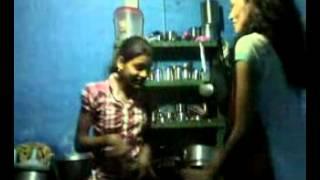 getlinkyoutube.com-Indian 2 best desi girls Dance in home