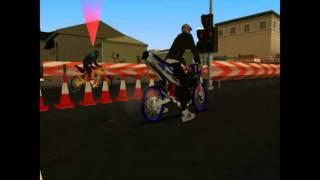 getlinkyoutube.com-GTA San Andreas Drag Race 2tak GTA SA Ninja R Vs Dash by Aditya Wahyu