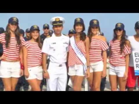 Guardacostas de Santa Marta y las mujeres más bellas del departamento