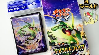 getlinkyoutube.com-【ポケモンカードゲームXY】 エメラルドブレイク!1ボックス開封! 「狙いはレックウザ&ナギ様!」PART1【Opening Pokemon Emerald Break Booster Box】