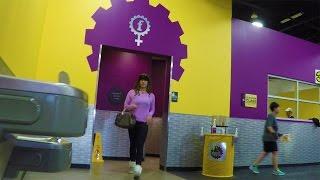 getlinkyoutube.com-HIDDEN CAM: Cross-Dressing At Planet Fitness!