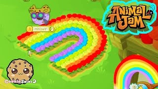 getlinkyoutube.com-Animal Jam Awesome Dens , Party with Cookie swirl c Fans - Cookieswirlc Video