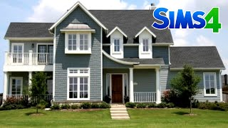 AMERICAN FAMILY HOUSE - Construction Sims 4