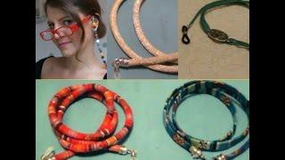 getlinkyoutube.com-Como hacer cordones para gafas fácil. !!No las pierdas este verano!!