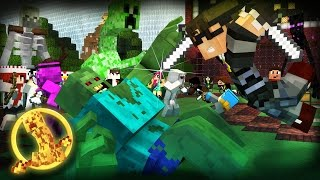 getlinkyoutube.com-Minecraft MODDED Hunger Games : MUTANT CREATURES! /w Facecam