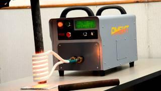 getlinkyoutube.com-Индукционный нагрев трубы диаметром 42мм