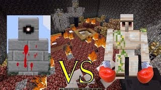 getlinkyoutube.com-IRON GOLEM VS BATTLETOWER GOLEM