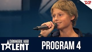 getlinkyoutube.com-Sangeren Daniel Hersig - Danmark har talent - Program 4