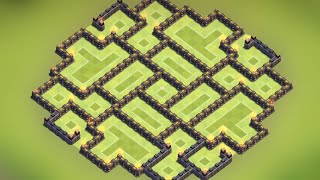 getlinkyoutube.com-Clash of Clans - Town hall 8.5 (TH8.5) Best Farming Base