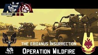 getlinkyoutube.com-Operation Wildfire - The Eridanus Insurrection - Halo in ArmA 3