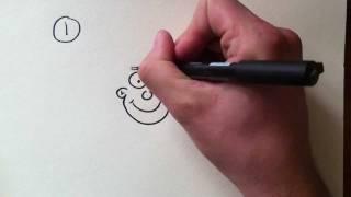 getlinkyoutube.com-Cartoons tekenen voor beginners - Deel 1