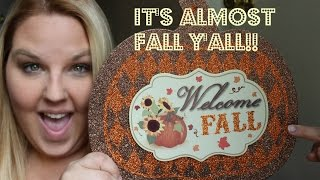 getlinkyoutube.com-It's Almost Fall Y'all! Dollar Tree Haul 2015