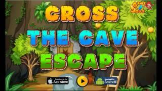 getlinkyoutube.com-Cross The Cave Escape Walkthrough - Games2Jolly