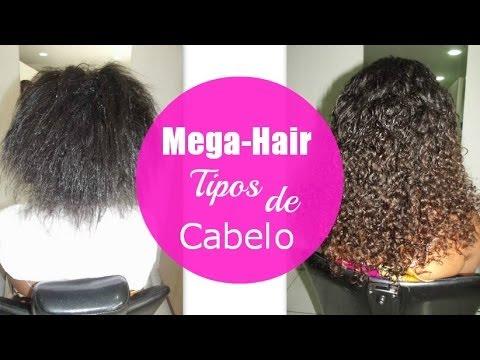 Mega-Hair Tipos de cabelo e quantidade para colocar