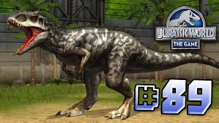 getlinkyoutube.com-Leveling Up Indominus! || Jurassic World - The Game - Ep 89 HD