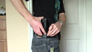 getlinkyoutube.com-Conceal Carry - CCW - For the skinny and small frame guys out there! Glock 27