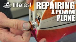 getlinkyoutube.com-Flite Test - Repairing A Foam Plane - FLITE TIP