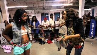 """getlinkyoutube.com-BABS BUNNY & VAGUE presents """"QUEEN OF THE RING"""" KRISSY YAMAGUCCI vs MS MURK"""