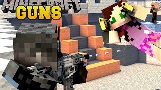 getlinkyoutube.com-Minecraft: TOO MANY GUNS (ROCKET LAUNCHERS, LASER GUNS, & FUTURISTIC GUNS) Mod Showcase