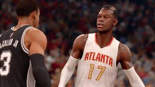 getlinkyoutube.com-NBA Live 16 (Xbox One) Spurs vs Hawks Gameplay