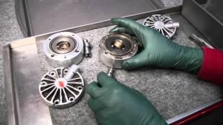 getlinkyoutube.com-Mercedes Self Leveling Suspension SLS Pump Inspection and Repair