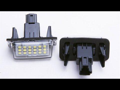 Светодиодные фонари подсветки номера для Peugeot 306? Посылка из Китая