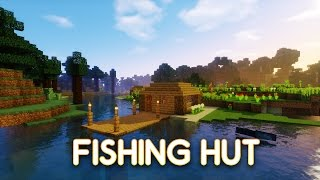 getlinkyoutube.com-Minecraft Tutorial: How To Build A Fishing Hut