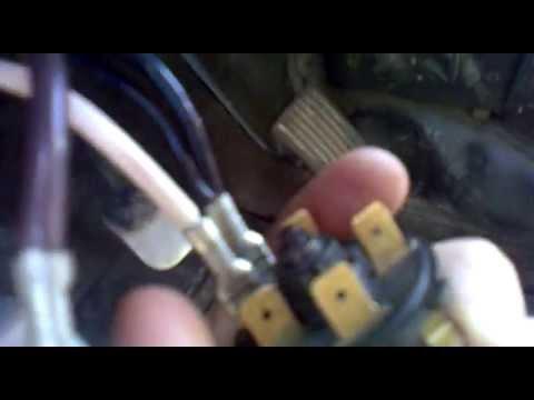 Как подключить провода к замку зажигания (Ваз 2106)