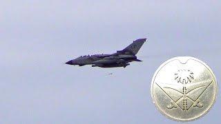 getlinkyoutube.com-Royal Saudi Air Force Tornado Jets, At Holbeach  Range England.