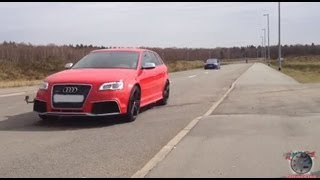 getlinkyoutube.com-Audi Rs3 vs. Ford Focus RS