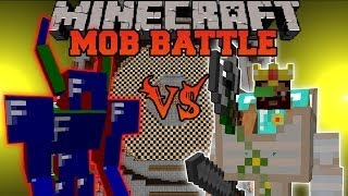 APIS VS. DWARF ENGINEER - Minecraft Mob Battles - TragicMC and Chocolate Quest Mods Battle