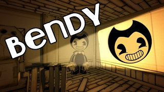 Bendy - Cartoon Nightmare! Bendy and the Ink Machine Gameplay - Chapter 1
