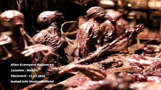 Breaking REAL Aliens captured on tape 2016  Extraterrestrial Graveyard Discoverd NEW alien sighting