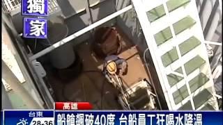getlinkyoutube.com-頂烈日工作 台船員工日飲22噸水-民視新聞
